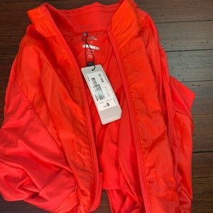 Women's Adidas golf vest - new bright orange